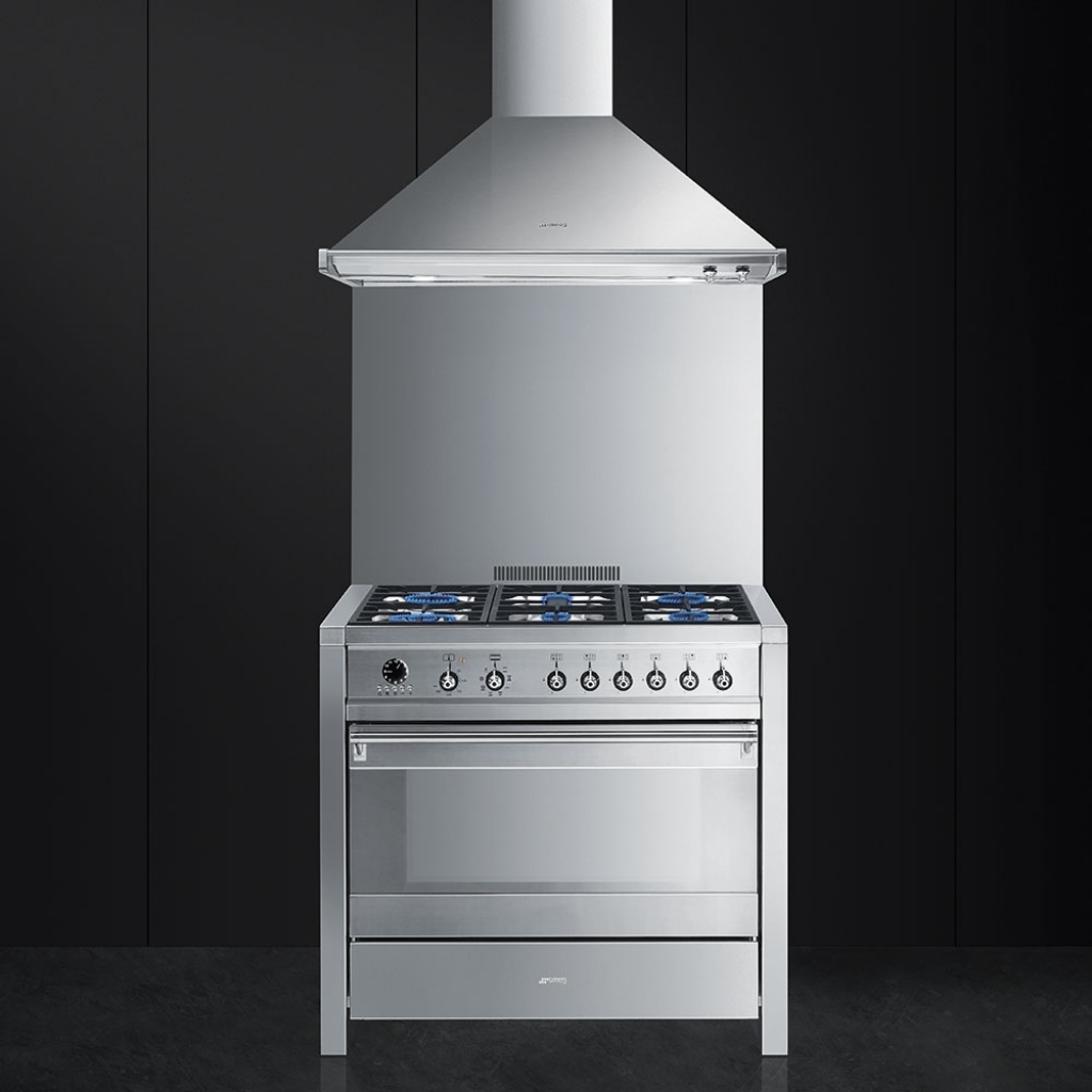 Cucina libera installazione Smeg