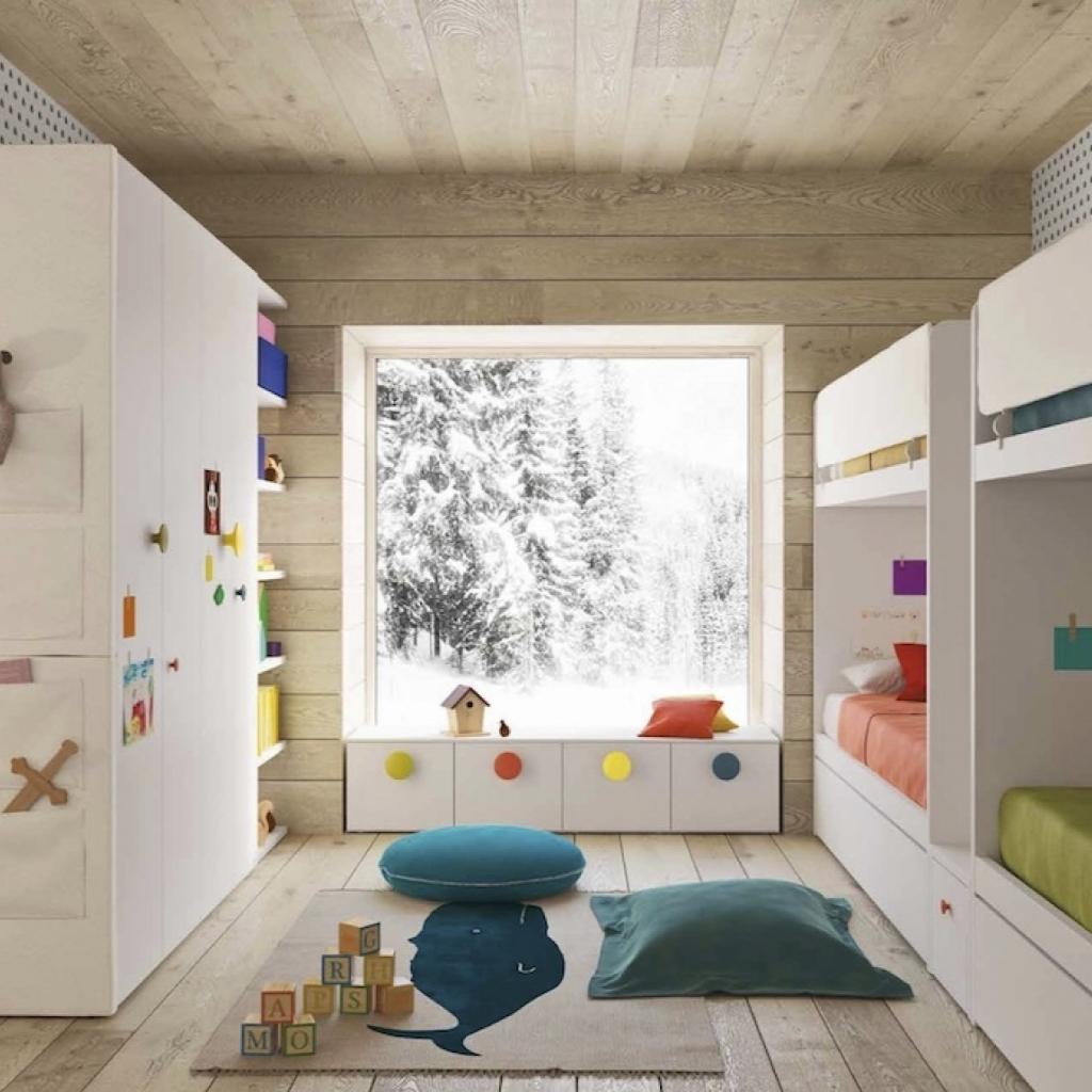 Cameretta letti a castello Room 7 by Nidi Battistella