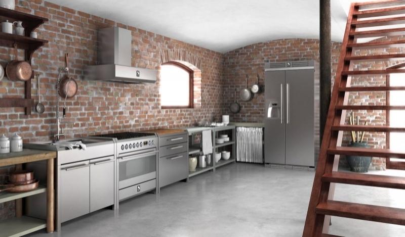 Mobili Cucina Professionale Acciaio.Cucine Steel In Acciaio Inox Ztl Home Arredamenti Bologna