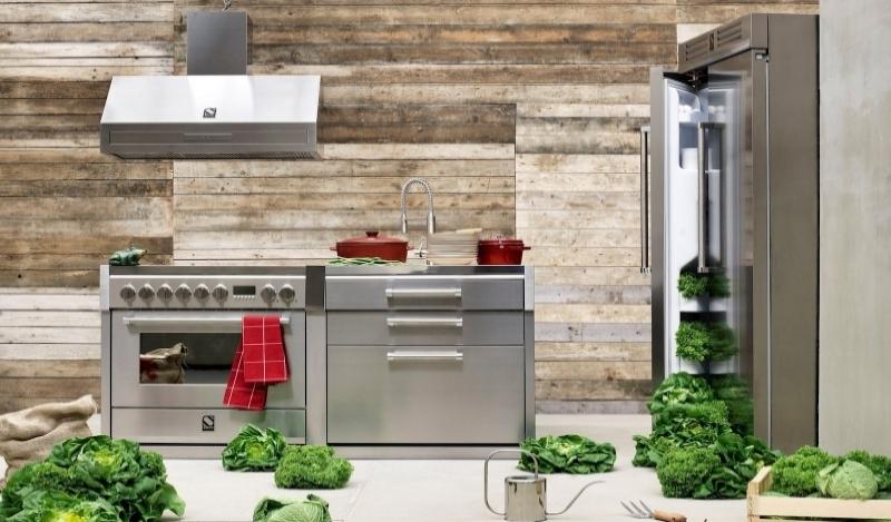 Cucine Steel in acciaio Inox | ZTL Home Arredamenti Bologna