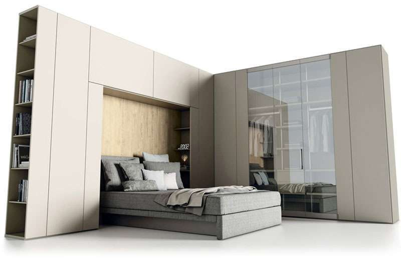 Composizioni Roomy armadio a ponte - Caccaro