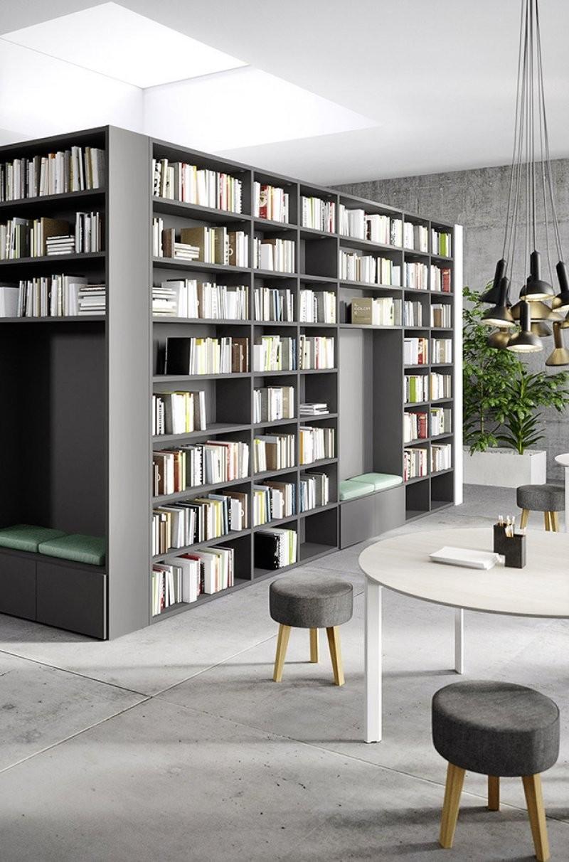 Librerie Arredamento Bologna.Librerie Per Ufficio By Cinquanta3