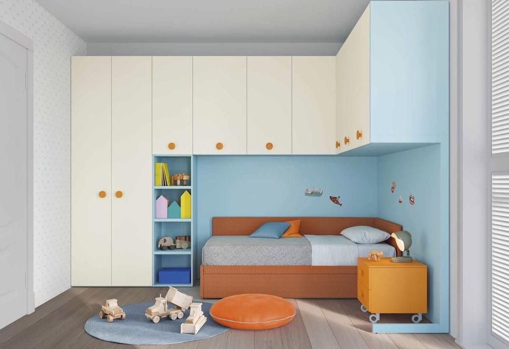 Cameretta Con Due Letti Battistella.Cameretta A Ponte Room 16 By Nidi Battistella
