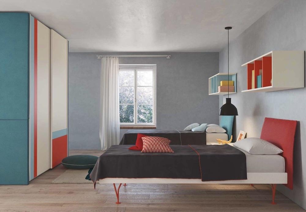 Cameretta room 2 by nidi battistella for Nidi camerette