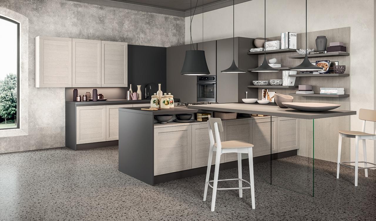 Cucina modello Frame Arredo3 | ZTL Home Arredamenti Bologna