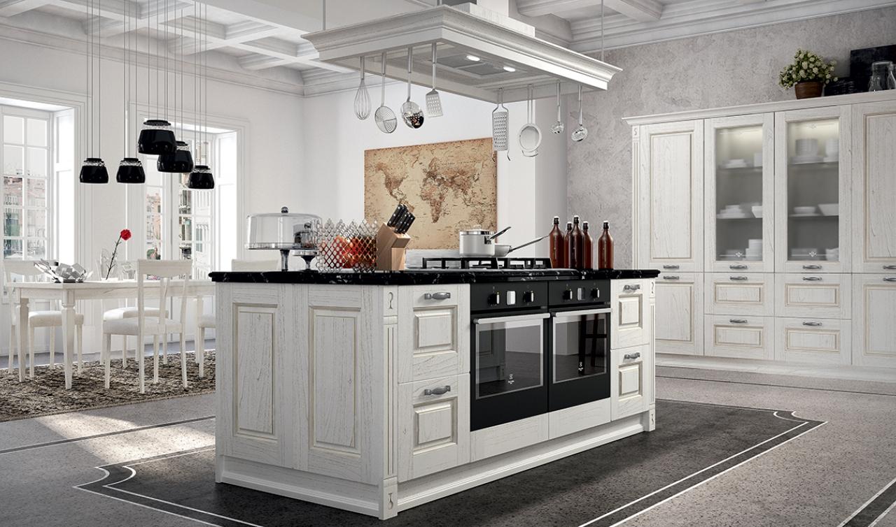 Cucina classica modello Verona Arredo3   ZTL Home ...