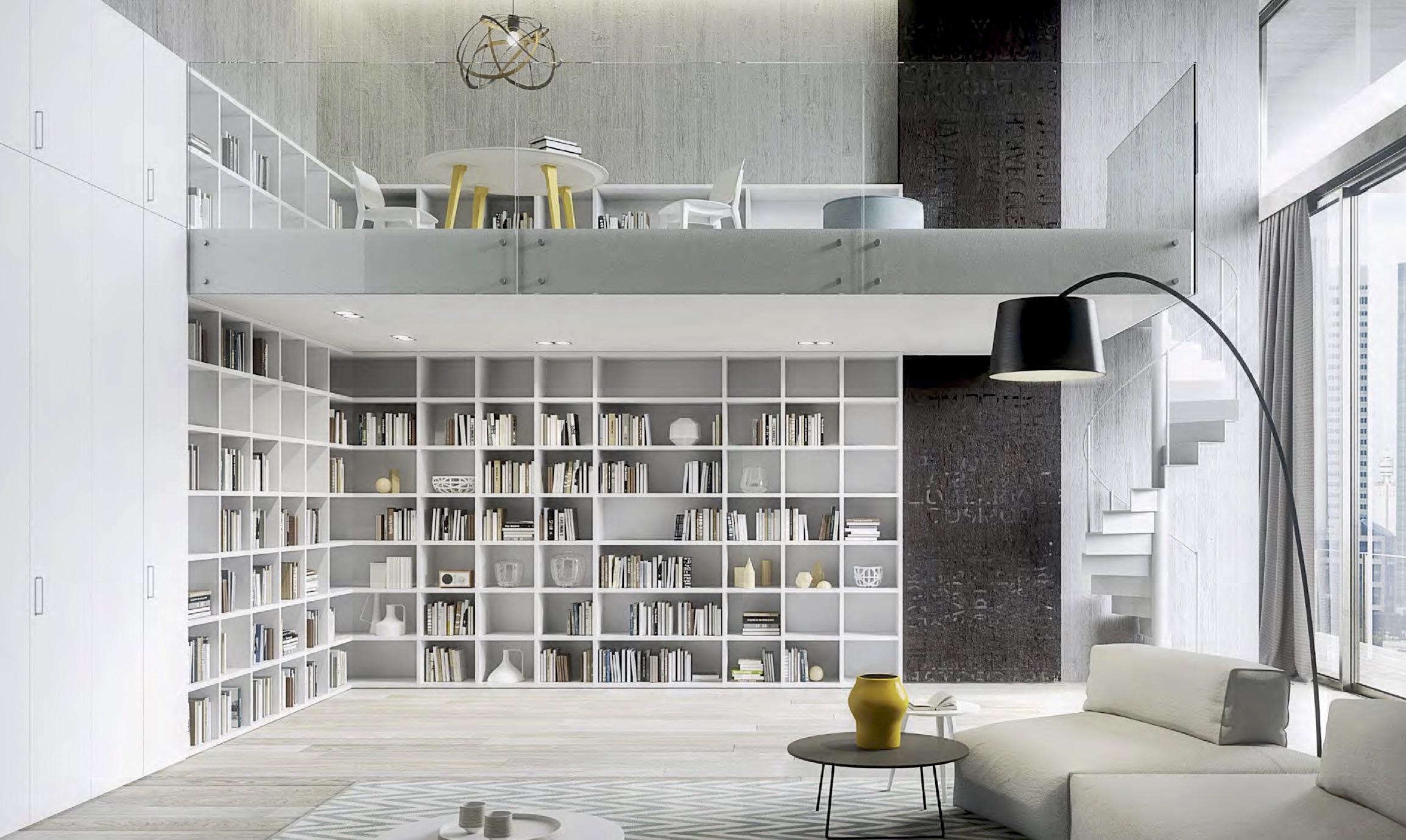 Librerie Arredamento Bologna.Librerie A Terra Cinquanta3 Ztl Home Arredamenti Bologna