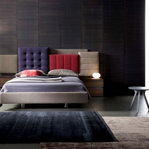 LETTO PATCHWORK - ROSSETTO