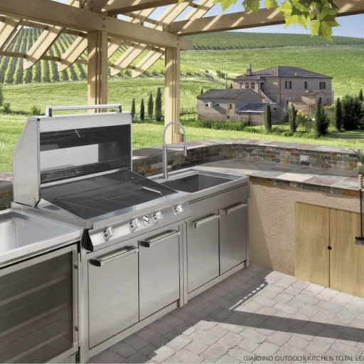 LINEA BBQ OUTDOOR - STEEL CUCINE